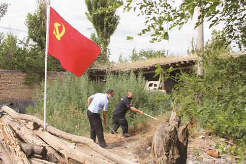 党员志愿服务进农家